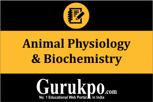 Animal Physiology & Biochemistry (Only Study Material)