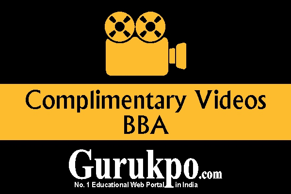 Complimentary Videos (BBA)