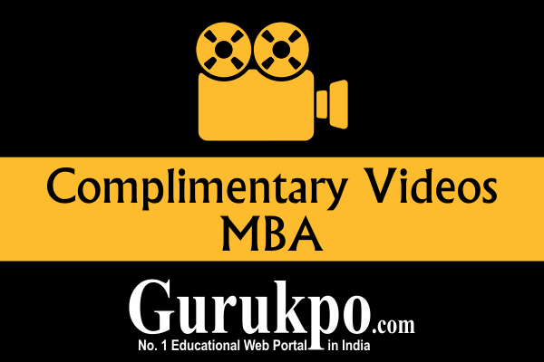 Complementary Videos (MBA)