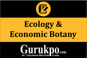 Ecology & Economic Botany (Only Study Material)