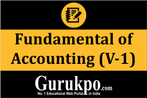Fundamental of Accounting (V-1)