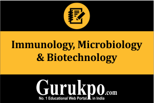 Immunology, Microbiology & Biotechnology (Only Study Material)