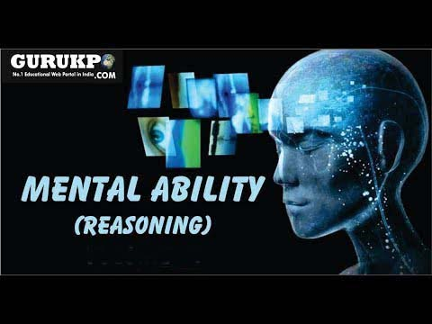 Mental Ability (Reasoning)