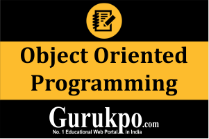 Object Oriented Programme